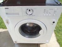 ZANUSSI 6KG INTEGRATED WASHING MACHINE FULLY REFURBISHED COMES WITH 3 MONTHS WARRANTY