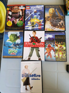 Kid movie lot DVD
