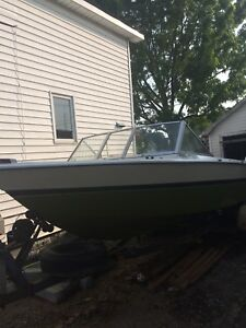 1979 18' Starcraft boat and trailer