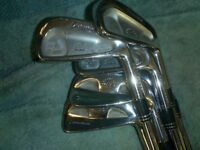 Taylor made R A C forged irons r300 steel 3to 9 irons