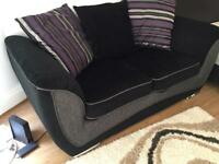 FREE DELIVERY BLACK DFS SOFA