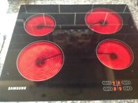 Electric ceramic hob 18 months old very good condition