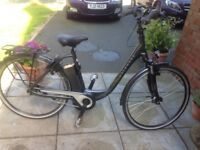 Kalkhoff electric bike 8 speed used 5 times nearly new very easy to use