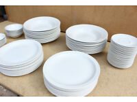 83 x Churchill Plates Bowls and Saucers joblot