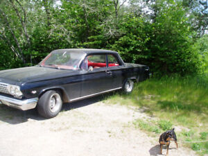 62 Chevy Biscayne 2 door post, sedan interest buyer only