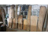 Live edge planks slabs, timber wood