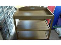 cot 104cm lengths changing table mother care