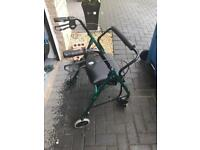 Days Safety Walker Rest Seat. Green. As New
