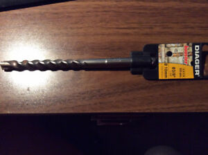 New Diager SDS Plus Masonry Concrete Drill Bit 3/8 inches