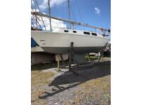 WESTERLY GRIFFON 26 FT YACHT
