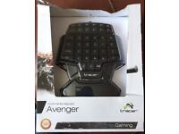Avenger multimedia gaming keypad.