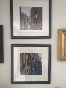 Set of two beautiful Venice prints