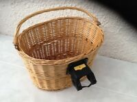Halfords Wicker Bike Basket
