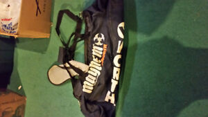 Blue mayhem baseball bag