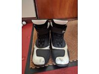 Richa Waterproof Motorcycle Boots Size 9