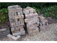 * Over 100 Bradstone buff / cream bricks blocks *