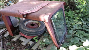 International  tractor  b275 parts  and curtis  cab