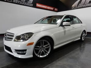 2013 Mercedes-Benz C-Class 300 4MATIC SPORT PACKAGE TOIT, MAGS -