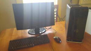 PC GAMER DELL XPS INTEL i7 + VIDÉO GTX Ti 4GB + ÉCRAN 24'' HD +