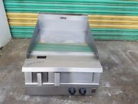 commercial falcon dominator 2 burner NAT GAS griddle solid top with warranty