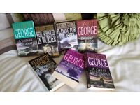 ELIZABETH GEORGE BUNDLE MIXED PAPER BACK BOOKS X 7