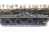 Ornate Metal Iron Garden Panels