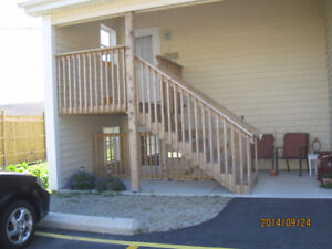 Newer Two Bedroom Apartment, Centrally Located in Town