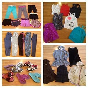 Huge 170 + Piece Brand Name Youth Girls Clothes Lot!