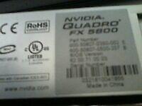 NVIDIA® Quadro® FX 5800