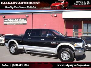 2013 Ram 3500 Laramie MEGA-CAB/6.7L/NAVI/CAM/LEATHER/ROOF