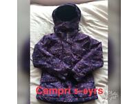 Girls campri ski jacket 5-6 yrs