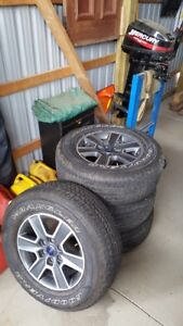 275/65/r18 rims and tires very good shape need gone