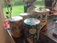 Marks and Spencer's Autumn Owl canisters