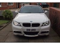 2011 BMW 320 M SPORT 6 SPEED 181 BHP - SALVAGE DAMAGED REPAIRABLE CAT D
