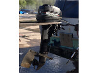 Mercury boat outboard, rib or cabin cruiser 8hp