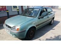 FORD FIESTA 1.3 CHEAP INSURANCE N PETROL, 1 YR MOT,TAXED AND INSURED READY TO GO. VERY RELIABLE!!!!!