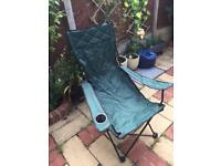 Folding camping picnic fishing chair