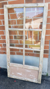 Antique Wooden Window  - great for wedding decor