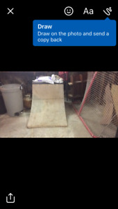 3 foot tall quarter pipe