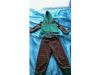 boy xmas elf outfit
