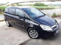WANT A 7 SEATER WELLTHIS ZAFIRA 08 REG HAS ONLY 80 K MILES..ALLOYS..ELECTRIC PACK..12 MNTHS MOT.HIST