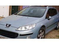 2007 Peugeot 407SW £2,500.00 ono