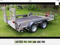 Seller refurbished 3500 kg plant trailer
