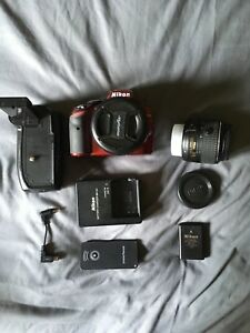 NIKON D3200 - WITH 2 LENSES & MORE