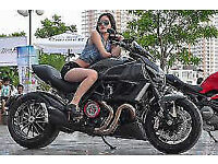 Wanted Ducati Diavel, Harley, Victory MT01- swap for My BMW & Yamaha - see my other ads