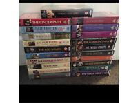 21x Catherine Cookson VHS / tapes