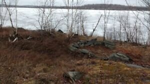 waterfront lots 10 min. from Sudbury