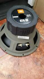JBL GT4-10 subwoofer no box
