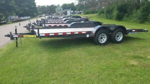 16 ft tandem axle trailer