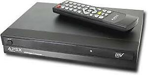 TV BOX Apex to receive  digital signal for analog TV